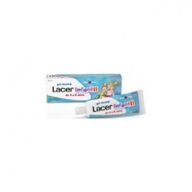 LACER INFANTIL GEL DENTAL 50 ML FRESA