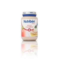 NUTRIBEN JUNIOR POLLO ARROZ 200