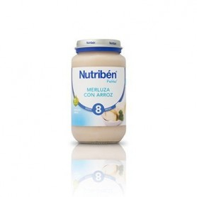NUTRIBEN 250 MERLUZA ARROZ