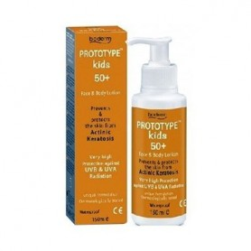 PROTOTYPE KIDS 50+ FACE AND BODY LOTION 150 ML