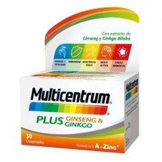 Multicentrum plus ginseng ginko