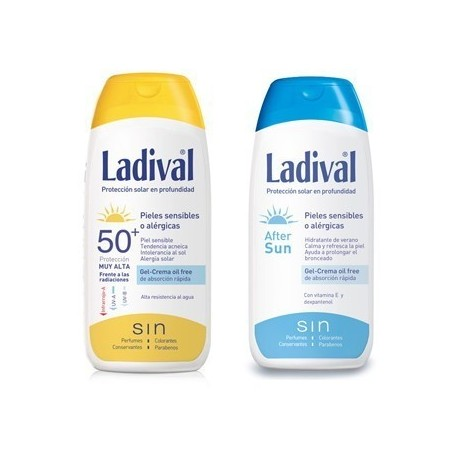 LADIVAL ALLERG FOTOPROTECTOR FPS 50+ MUY ALTA/ A