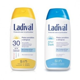 LADIVAL ALLERG FOTOPROTECTOR FPS 30 / AFTER SUN