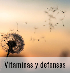 Vitaminas y defensas en Farmacia Muriel Romano